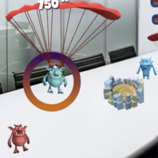 Crazy Monsters Strike – Augmented Reality